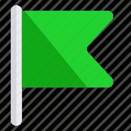 flag, mark, milestone, phase, stage icon