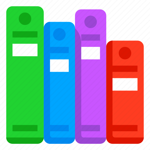 book, documents, library, report icon