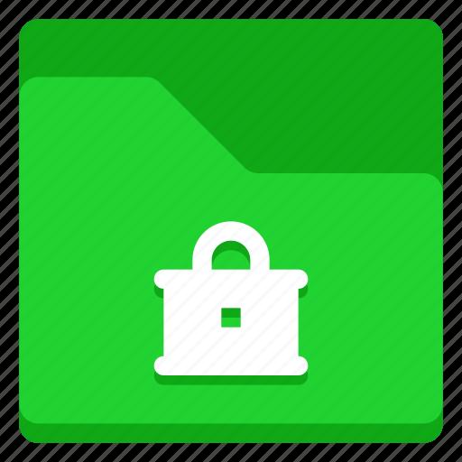 access, folder, lock, private, security icon