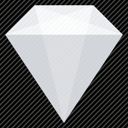 brilliant, crystal, diamond, jewelry, mineral icon