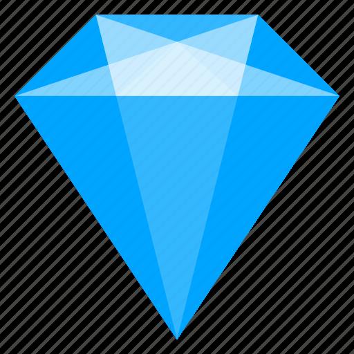 brilliant, crystal, diamond, jewelry, mineral, topaz icon