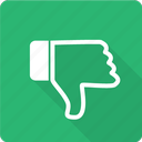 bad, dislike, don't, down, hate, no, thumb icon