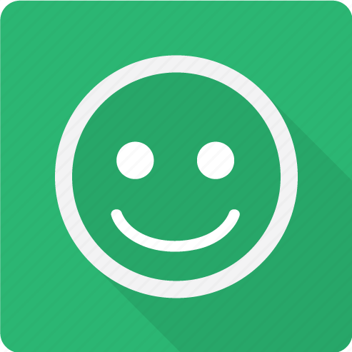 emoji, emoticon, face, glad, good, happy, positive, smile, smiley icon