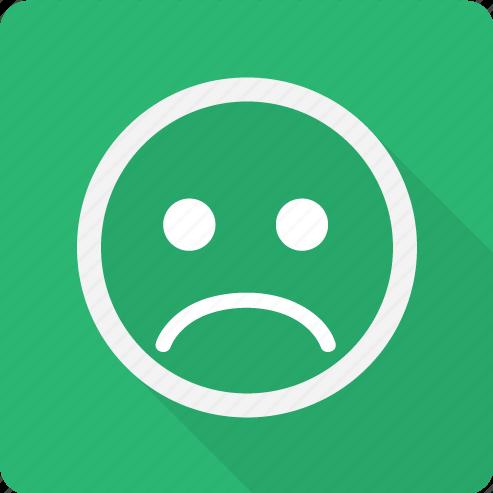 angry, emoji, emoticon, face, mad, sad, smiley icon