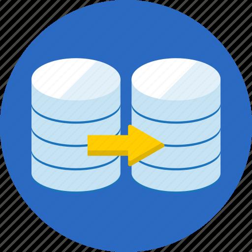 data, database, seo, transfer, web icon