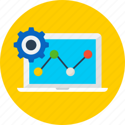 chart, installation, seo, set up, setting, web icon