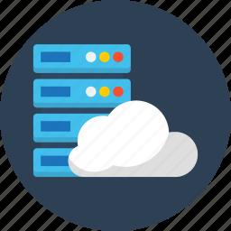 cloud, database, seo, synchronous, web icon
