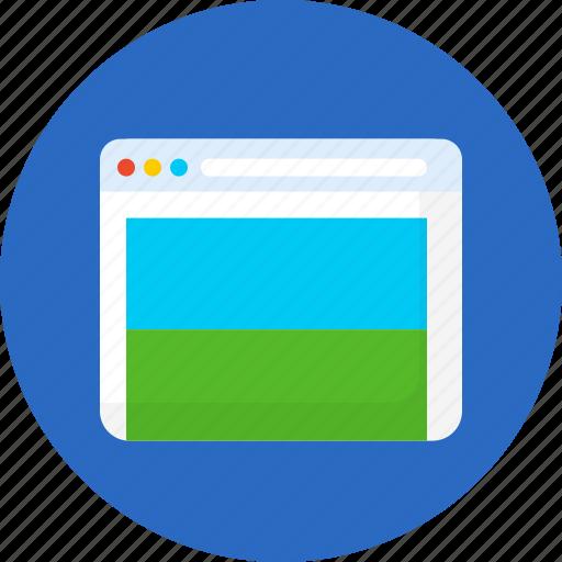 landing, page, seo, web icon