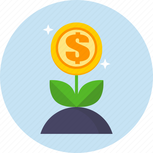 growth, money, profit, seo, web icon