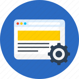 page, seo, setting, web, website icon