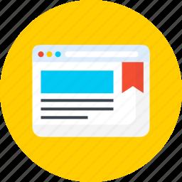 bookmark, seo, vote, web, website icon