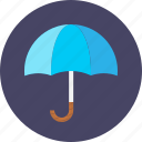 assurance, insurance, reassure, take care, umbrella, work icon