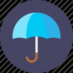 assurance, insurance, reassure, take care, umbrella, work icon