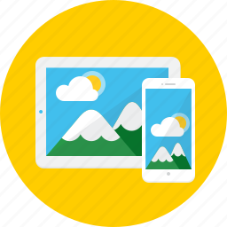 device, ipad, iphone, tablet, technology, work icon