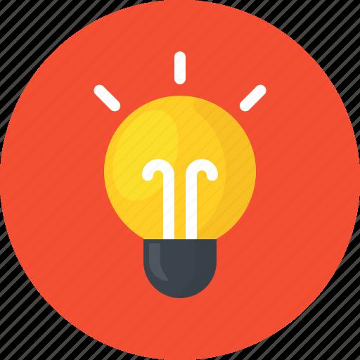 brainstorm, creative, idea, innovation, lamp, light, work icon