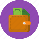 business, make money, money, save money, wallet, work icon