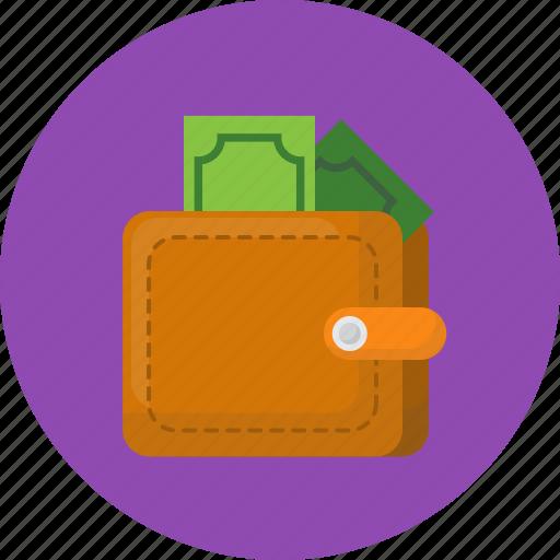 business, make money, money, save money, wallet, work icon