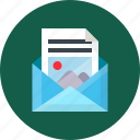 email, marketing, newsletter, online, send, seo, work icon