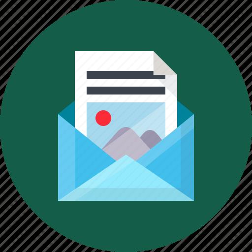 Online newsletter icon