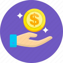 accountant, make money, save, save money, treasurer, work icon