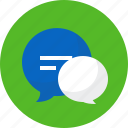 chat, conversation, messaging, news, seo, speech, talk icon