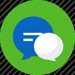 chat, conversation, messaging, news, seo, speech, talk icon