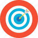 accuracy, aim, arrow, arrowgoal, goal, target, work icon