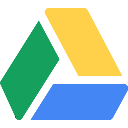 drive, file, google, sharing, social icon
