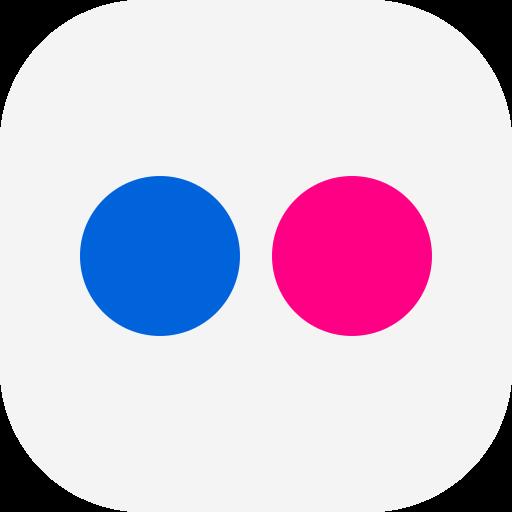 flickr, social icon