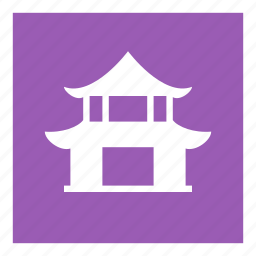 attraction, building, pagoda, saigon, temple icon