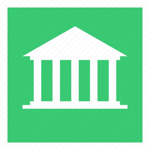 attraction, bank, building, history, museum, saigon icon