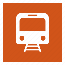 railway, train, transport, vehical icon