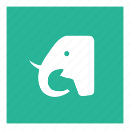 animal, elephant, garden, zoo icon
