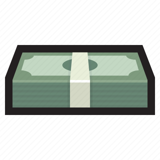 bundle, cash, dollar, financial, grand, money, payment icon