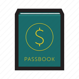 account, bank, bankbook, book, installment, passbook icon