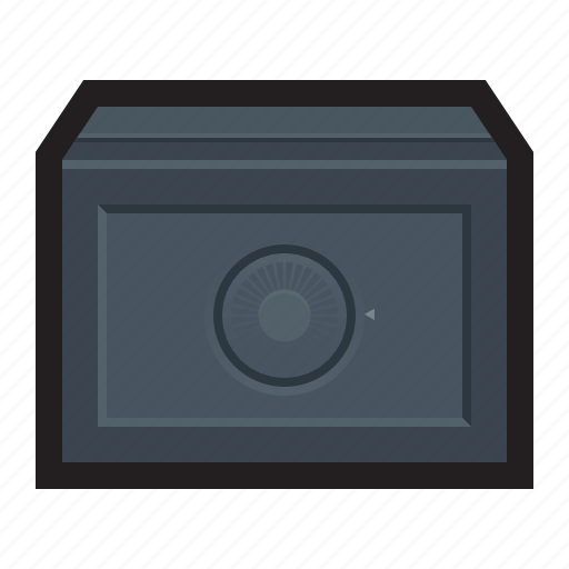 account, combination, financial, lock, safe, vault, wall icon