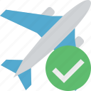 airplane, flight, ok, plane, transport, travel