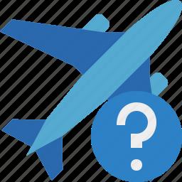 airplane, flight, help, plane, transport, travel icon
