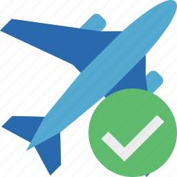 airplane, flight, ok, plane, transport, travel icon