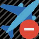 airplane, flight, plane, stop, transport, travel