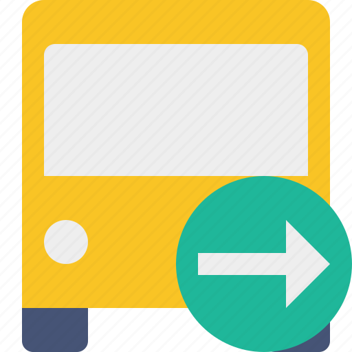 bus, next, public, transport, transportation, travel, vehicle icon