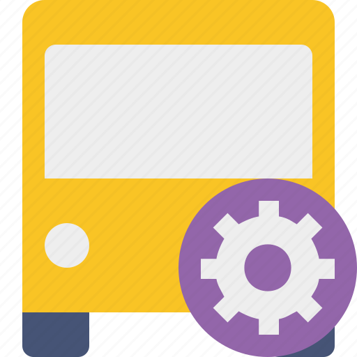 bus, public, settings, transport, transportation, travel, vehicle icon