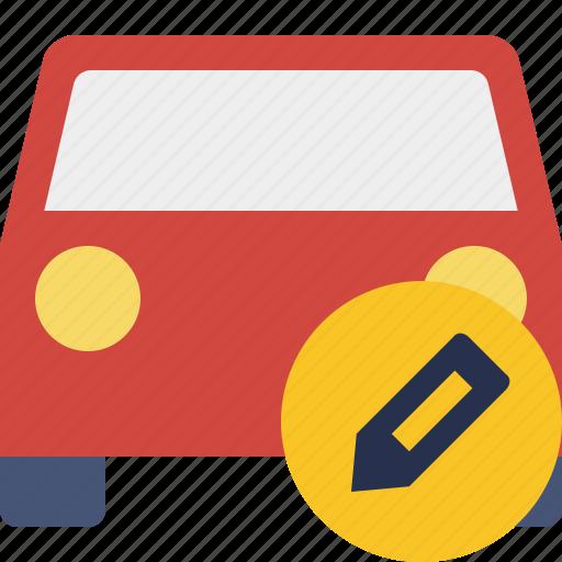 auto, car, edit, traffic, transport, vehicle icon