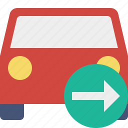 auto, car, next, traffic, transport, vehicle icon