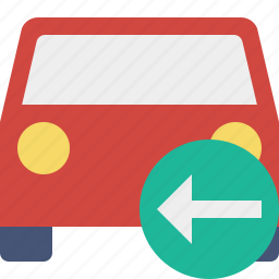 auto, car, previous, traffic, transport, vehicle icon