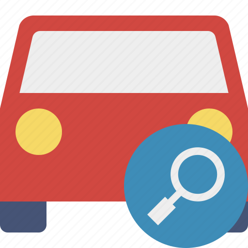 auto, car, search, traffic, transport, vehicle icon