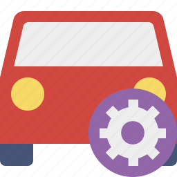 auto, car, settings, traffic, transport, vehicle icon
