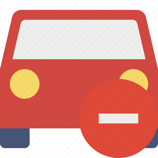 auto, car, stop, traffic, transport, vehicle icon