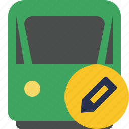 delivery, edit, railway, train, transport, travel icon