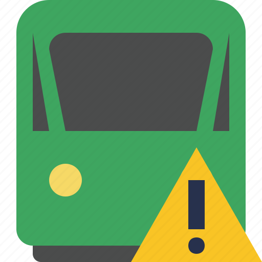 delivery, railway, train, transport, travel, warning icon